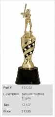 Tar Riser Softball Trophy