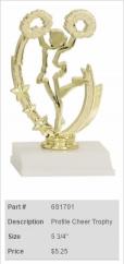 Profile Cheer Trophy