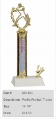 Profile Football Trophy