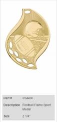 Football-Flame-Sport-Medal