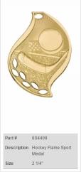 Hockey-Flame-Sport-Medal