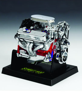 1/6 Scale Chevy Small Block Street Rod Engine Car Show Award