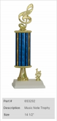 Music Note Trophy 2
