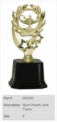 Sport Wreath Lamp Trophy