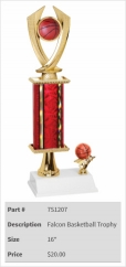 Falcon Basketball Trophy