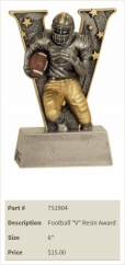 Football _V_ Resin Award