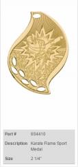 Karate-Flame-Sport-Medal