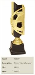 Soccer Triumph Award