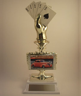 Poker Car Show Trophy