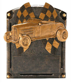 Custom Car Legend Resin Car Show Award