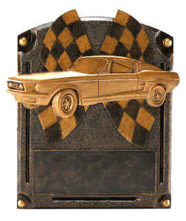 Mustang Legend Resin Car Show Award