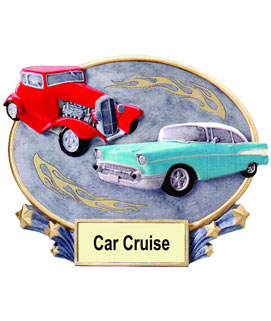 Car Cruise Oval Award