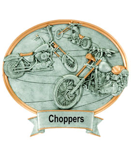 Choppers Oval Car Show Award