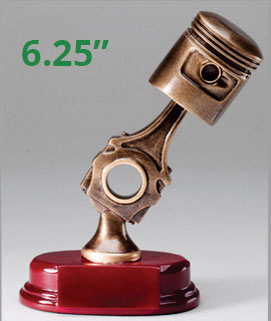 RF36 Piston Resin Car Show Award