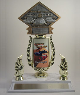 Resin Car Show Trophy #2