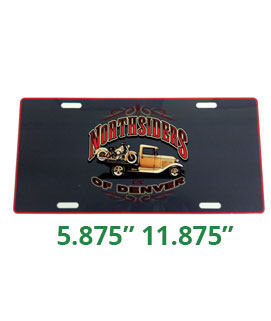 UN5656 License Plate Car Show Award