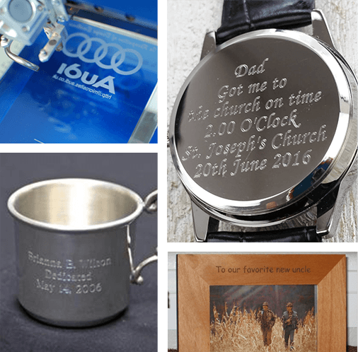 Expert Engraving Services for Awards, Watches, Cups, Frames & More
