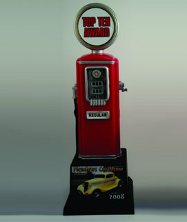 Resin Gas Pump Car Show Award #1