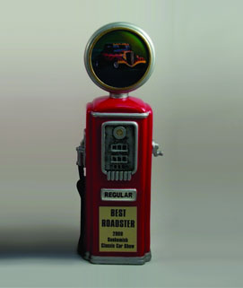 Resin Gas Pump Car Show Award #2