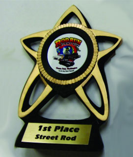 Resin Star Car Show Award #1